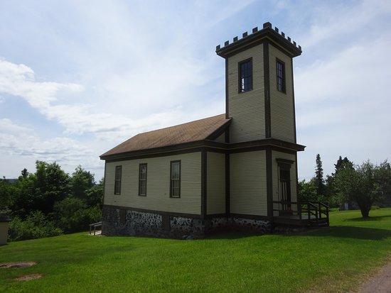 Mohawk, MI: Cental Mine Methodist Church