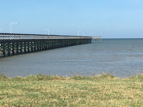 Port O'Connor, TX: King Fisher Beach Pier Area