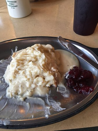 Troutville, VA: Open face turkey is one of my favorites. They did an awesome job preparing it! Yummy!!
