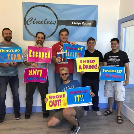 Ann Arbor, MI: We Escaped at Clueless, can you? www.A2clue.com