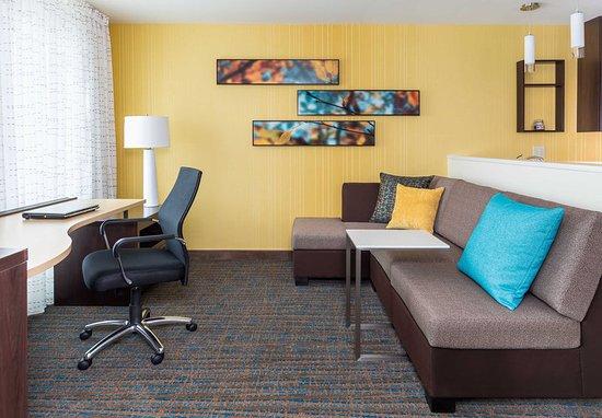 ไนล์, โอไฮโอ: Studio Suite - Living Area