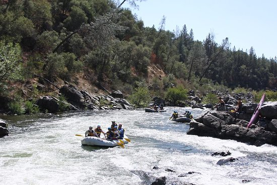 ARTA Whitewater Rafting Day Trips: View on the River