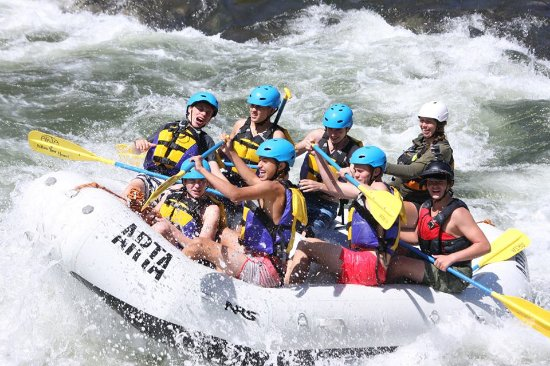 ARTA Whitewater Rafting Day Trips: In the rapids