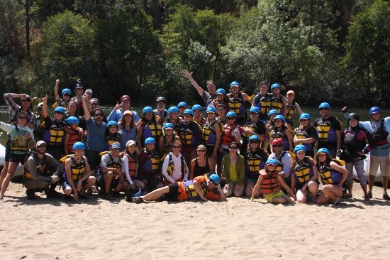ARTA Whitewater Rafting Day Trips: Our Group