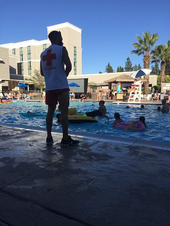 Renaissance ClubSport Walnut Creek Hotel: The hotel shares a pool with a family friendly gym that is open to the public and very affordabl
