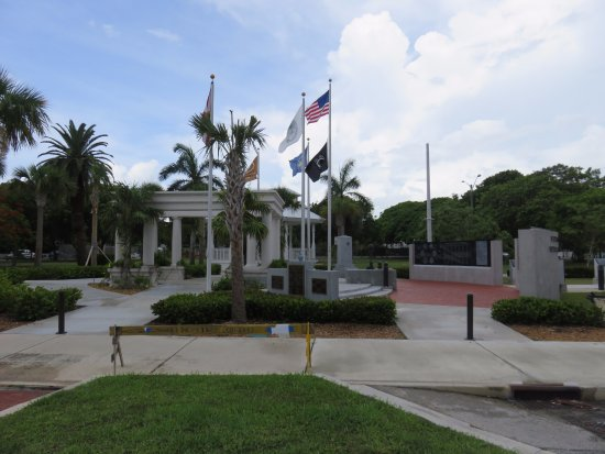 Key West Veterans Memorial Garden at Bayview Park