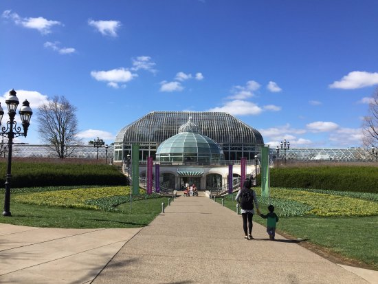 Phipps Conservatory: Exterior