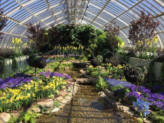 Phipps Conservatory And Botanical Gardens: Spring Bulb Garden
