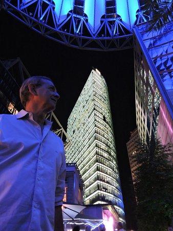 Sony Center: luces