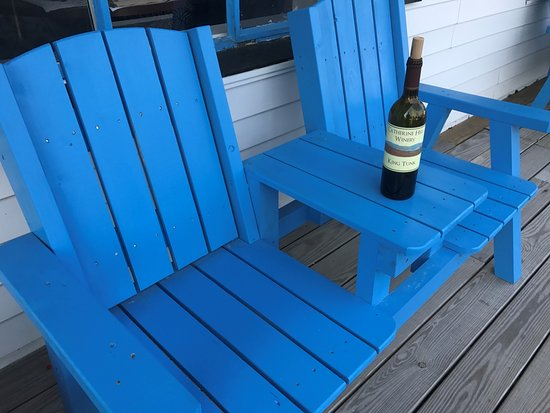 Cherryfield, ME: A bottle of King Tunk...perfect for evenings outside your room in Bar Harbor.
