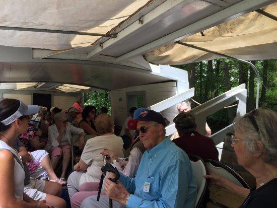 Canal Fulton, OH: On board the St. Helena III
