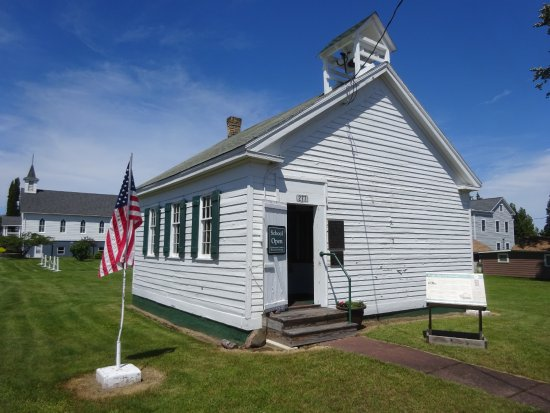 Eagle Harbor, MI: The Rathbone School