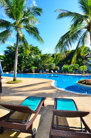 Outdoor Swimming Pool, First Bungalow Beach Resort