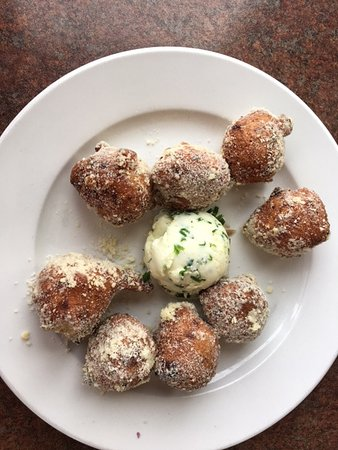 Old Hickory Station: Cauliflower fritters