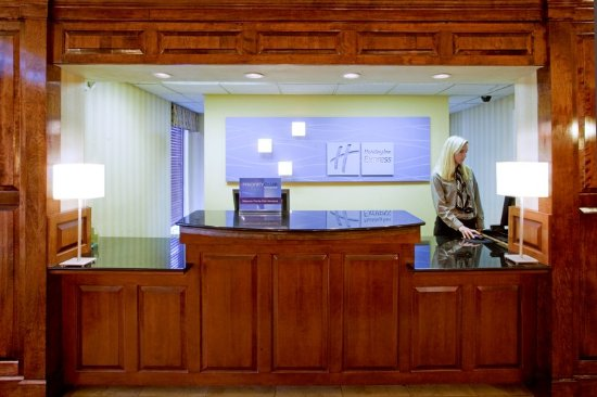 Holiday Inn Express Danville: Our knowledgeable front desk clerks are ready to help
