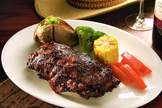 Jake's Charbroil Steaks: BBQ Spare ribs