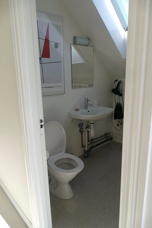 Vordingborg, Denmark: Bathroom shared with all guests