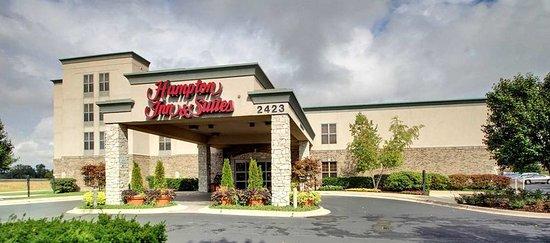 Hampton Inn and Suites Chicago / Aurora: Entrance