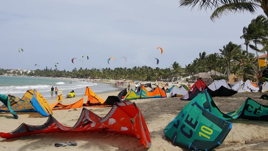 Laurel Eastman Kiteboarding (LEK): From the front of the shop looking upwind