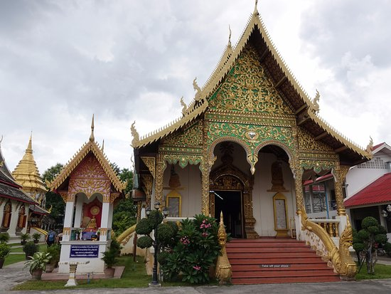 Wat Chiang Man: The temple