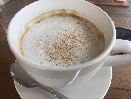 Gainesville, VA: Cappuccino had too much milk.