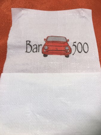 Bar 500 : Sitting in our display cabinet a fond memory