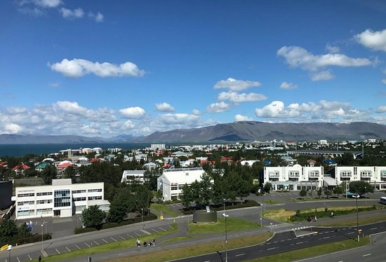Hilton Reykjavik Nordica: View from room