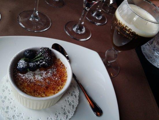 "Ivalo, Finland: Crème brulée et ""finnish coffee"""