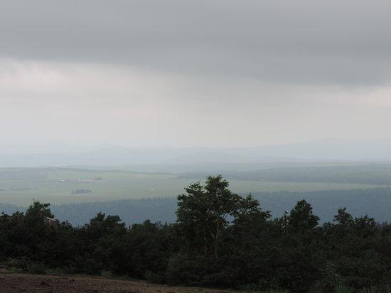 Tokachidake Bogakudai Observation Tower: 薄曇りで残念