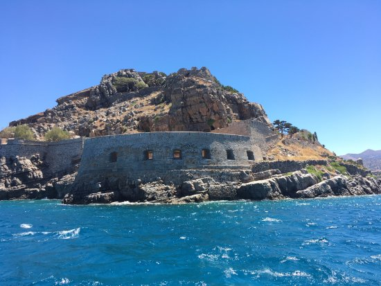 Beach Club Aphrodite : We did also a lovely trip to Spinalonga - island of lepra.