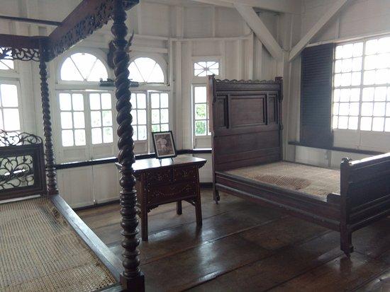Kawit, Filipinas: The room of Aguinaldo's sons, Miguel Aguinaldo and Emilio Aguinaldo Jr.
