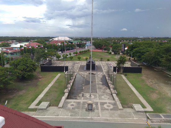 Kawit, Filipinas: The scenic view from the watchtower.