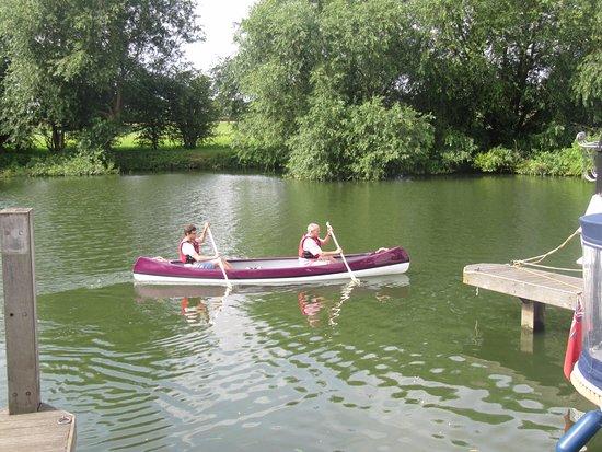 Benson, UK: Canoe looks lovely - we chose the colour when we ordered it