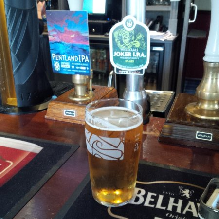Pitlessie, UK: Real ale