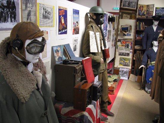 Denbigh, UK: War memorabilia