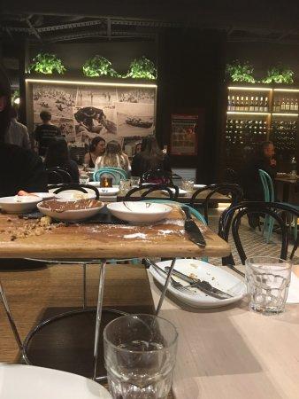 Italian Restaurant Macquarie Shopping Centre