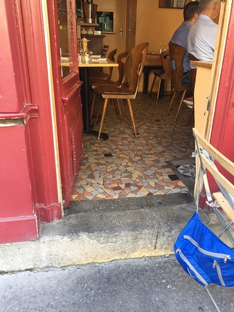 Le Petit Vatel : 1 step / 1 marché mobilité réduite ok