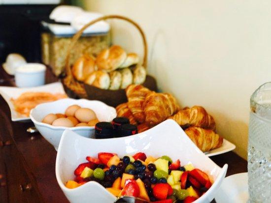 WilloBurke Inn & Lodge: WilloBurke's Breakfast