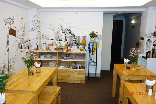 Beautiful Saigon Hotel: Breakfast room