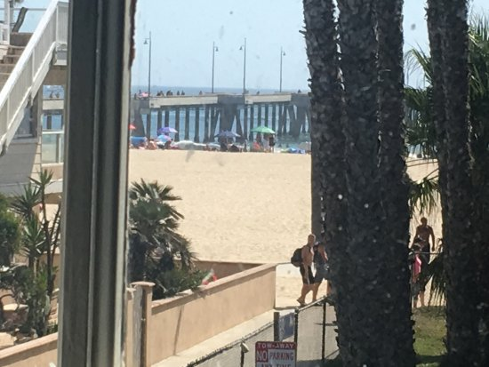 Venice Beach House: view from room
