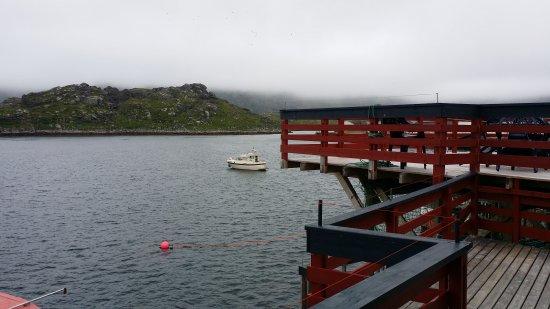 Gjesvaer, Noruega: Fiskerestaurant Terassen