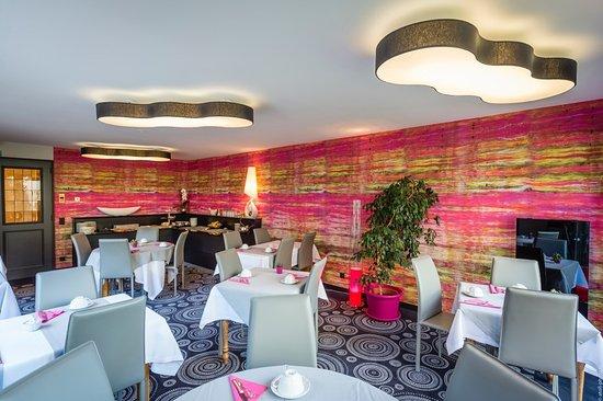 Westhalten, Γαλλία: salle petit dejeuner