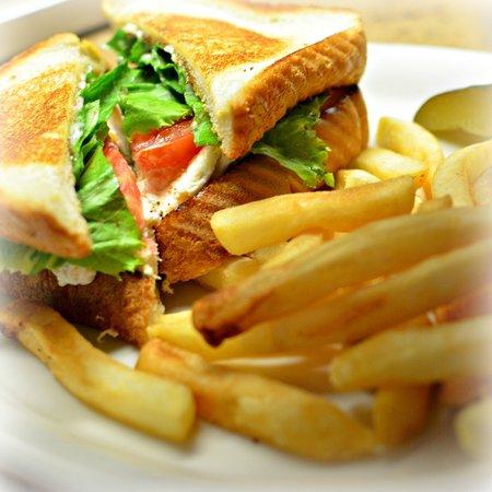 Childersburg, AL: Chicken Salad Sandwich - also known at the Cold Sandwich