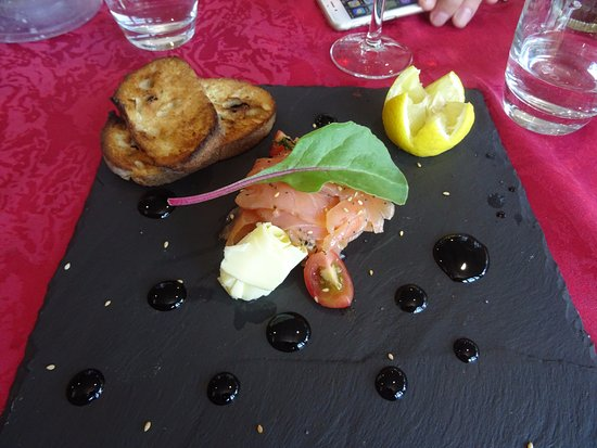 Chavelot, France: saumon fumé