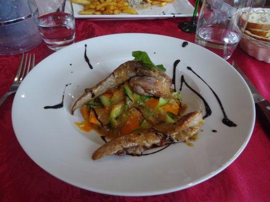 Chavelot, France: aiguillettes de canard