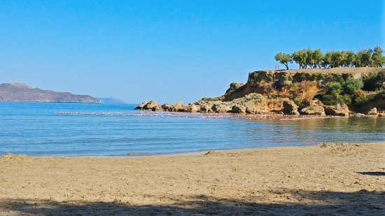 Yakinthos Hotel: Glaros Beach, situated less than 100 m from the hotel