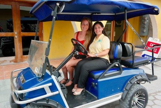 SunBreeze Hotel: Golf Cart Tour of City