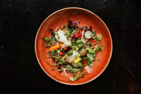 de Kleine Zavel: veggie dish