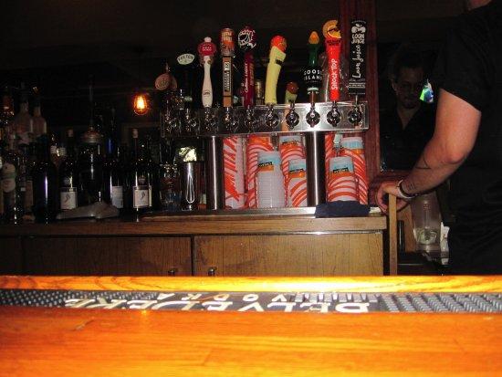 Bayport, Minnesota: Back bar