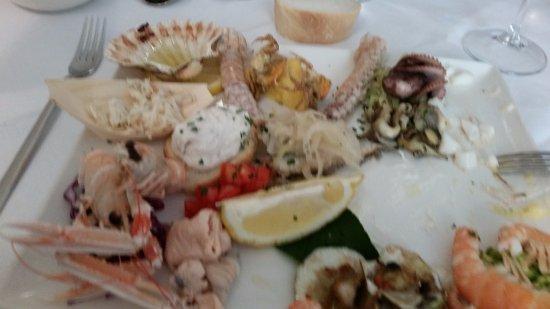 Da Bisiolo: Particolari piatto unico di pesce